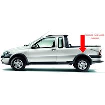 Moldura Para Lamas Traseiro Fiat Strada Adventure - Original