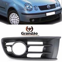 Grade Parachoque Polo 2003 2004 2005 2006 2007 Com Furo D