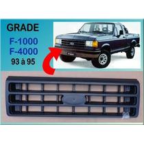 Grade Diant. F-1000 F-4000 1993 À 1995 Plástico Preta Nova