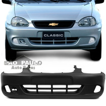 Parachoque Dianteiro Corsa Wagon Pick 2000 2001 2002 C/ Furo