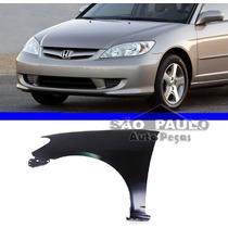 Paralama Honda Civic 2004 2005 2006 04 2005 2006 Esquerdo