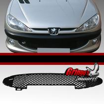 Grade Central Parachoque Peugeot 206 2004 A 2010 Colmeia