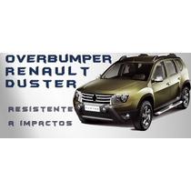 Overbump Duster C/ Suporte De Farol Auxiliar Front Bumper