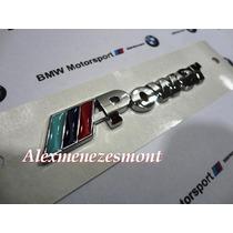 Bmw M-power Emblema Em Metal Cromado De Alta Qualidade***