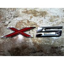 Bmw X5 Emblema Traseiro (porta Mala) X Vermelho***