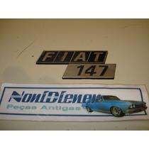 Fiat 147 - Emblema Da Tampa Traseira
