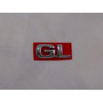 Emblema Cromado Gl Linha Gm Astra/corsa/vectra/kadett/omega