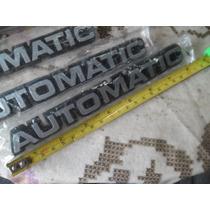 Opala Monza Chevette Chevrolet - Emblema Automatic - Novo