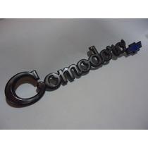 * Emblema Comodoro Lateral Cromado Brasão Friso Grade Opala