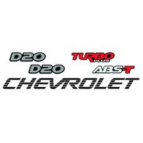 Adesivos Chevrolet D20 - Modelo Original - Preço Do Kit!