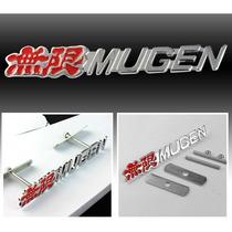 Emblemas 3d Para Grade Ralliart Type R Si Mugen Honda Jdm