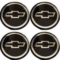 Emblema Chevrolet Botom Calota Ou Roda Resinado 48 Ou 51mm