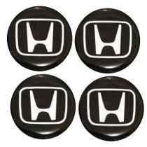 Emblema Honda Botom Calota Roda Resinado 55mm Ou 58mm