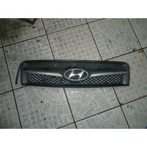 Grade Parachoque Hyundai Tucson Com Friso Cromado An:1063