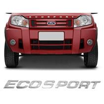 Letreiro Cromado Plastico P/ Capo Ecosport 03/ Frete Gratis