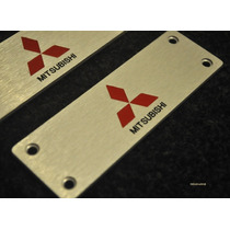 Emblema Carpet Tapete Mitsubishi L200 Triton Pajero Lancer !