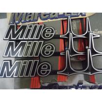 Emblema Mille Ii Original Novo Deixe Seu Uno Como Original !