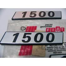 Emblema 1500 Fiat Uno Premio Elba 147 Original Novo !