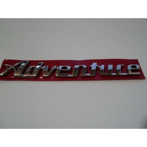 Emblema Adventure Cromado Fiat Palio Strada Dobló Idea