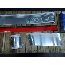 Jg De Faixa Fiat Uno 1.5r Vermelho
