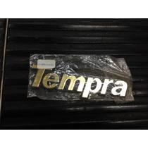 Emblema Tempra - Para Carros Fiat - Serie Ouro
