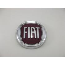 Kit Completo Emblema Fiat Vermelho Stilo