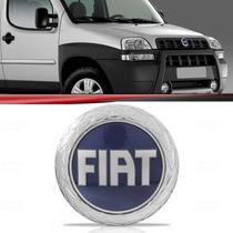 Emblema Grade Fiat Doblo 02 03 04 05 06 07 08 Azul