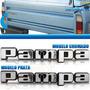 Letreiro Emblema Pampa 1982 83 84 85 86 87 88 89 Da Tampa