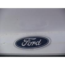 Emblema Grade Diant Corcel/del Rey/belina (oval) Azul Ford