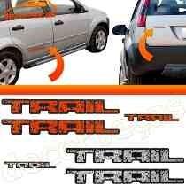 Emblema Trail Di Fiesta Kit Com 3 Peças