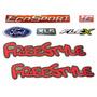 Kit Emblema Ecosport Freestyle Xls 1.6 Flex- Modelo Original