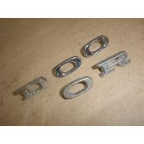 Emblema Letras Metal Ford Pequeno Corcel 5 Pecas