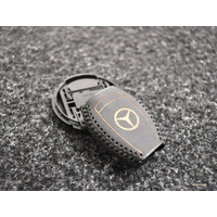 Capa Em Couro Chave Mercedes Benz Classe C S E Slk