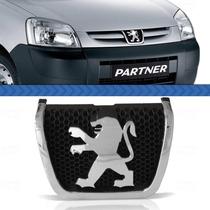 Emblema Grade Peugeot Partner 2012 2011 2010 Cromado Fundo