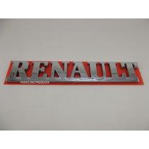 Emblema Renault Porta Malas Cromado