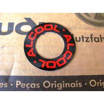 Adesivo Álcool Fusca & Fusca Itamar - Original Vw Novo
