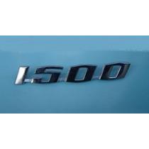Emblema 1500 Vw Fusca 1500 Novo Metal Cromado Unitário