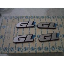 Emblema Gl Gol Voyage Parati 91 A 95 Vw