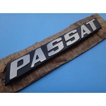 Emblema Logotipo Escovado Passat Tampa Porta Malas
