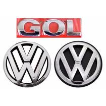 Emblema Gol G4 + Vw Grade E Mala Geração 4 - Modelo Original