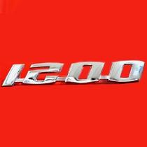 Emblema Em Metal Cromado Fusca 1200