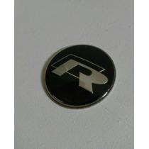 Emblema R Rline Vez Volante Buzina Vw Golf Gti Jetta Passat