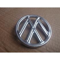 Emblema Do Capo Vw Fusca Original Novo Farol Lanterna Friso
