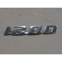 Emblema 1200 Para Fusca Metal Cromado Novo