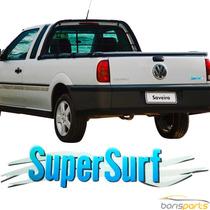 Emblema Volkswagen Adesivo Super Surf Saveiro Parati Gol