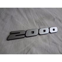Emblema 2000 Gol Gti 91/94 Logus Pointer Santana Gls Zero Km