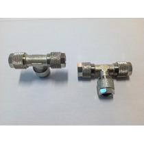 Conexão Niple Ou Tee 8mm Para Suspensão A Ar Metal Roscado