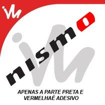 Adesivo Nismo Nissan Jdm Turbo Rebaixado Bomb Sticker