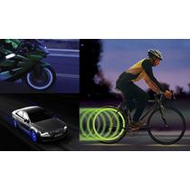 Kit Bico Pneu Neon Carro Moto Bicicleta/bike Iluminação Led