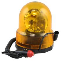 Giroflex Luz De Emergência Sinalizador 12v Giratório Com Imã